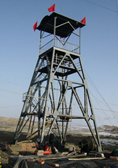 井架|矿车|矿机制造|矿用井架首选新疆德泉矿山机械